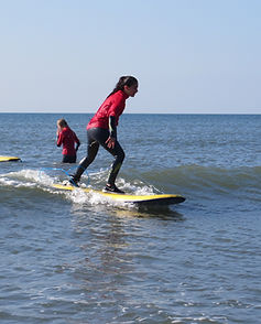 Surfing with Skern Lodge