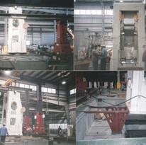 鍛造設備機械据付