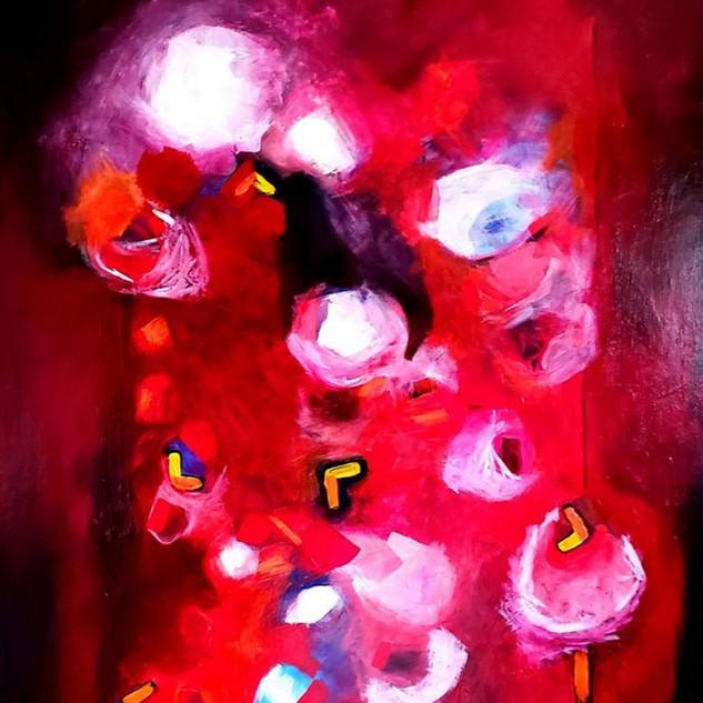 Dream of loud 36x48 acrylique sur toile