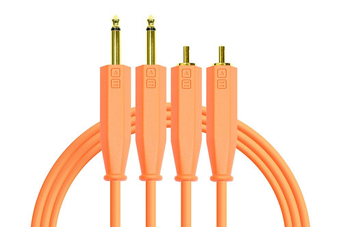 Chroma Cables Audio :RCA to 1/4