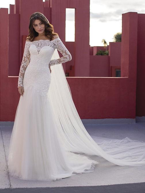 Vestido de Noiva Shadevenne White One Bridal