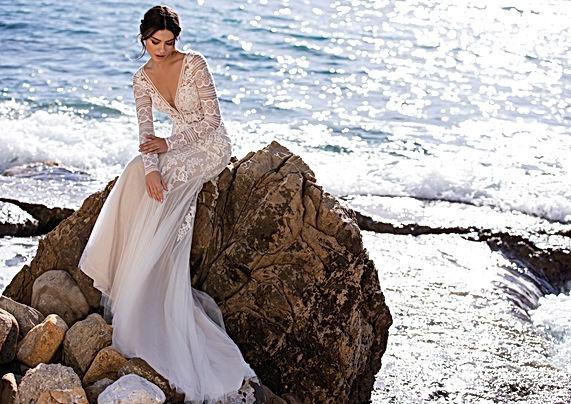 Vestido de Noiva Shadevenne White One 2021