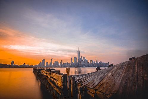 NYC Skyline from Jersey City