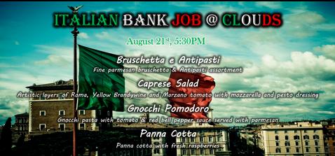 Italian bank job dinner.png