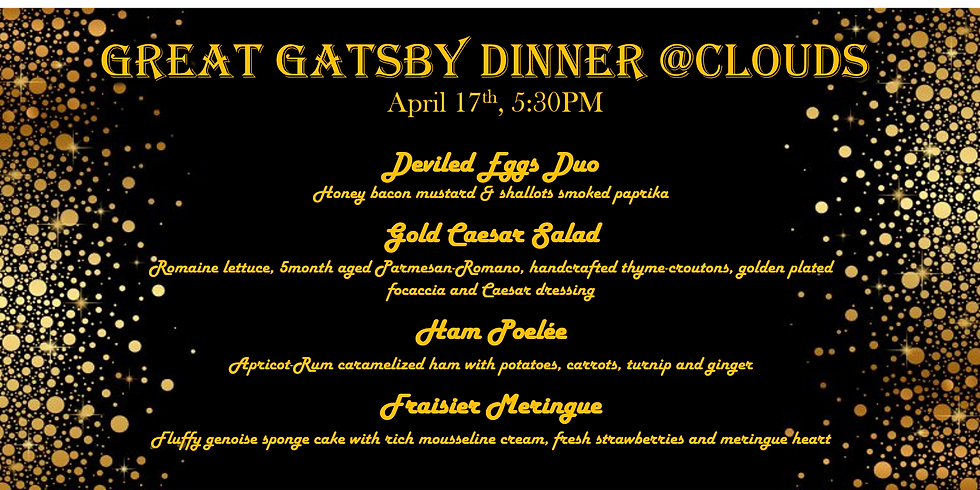 Great Gatsby @Clouds