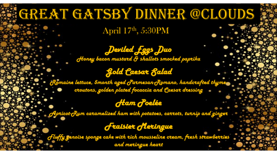 Great Gatsby Dinner
