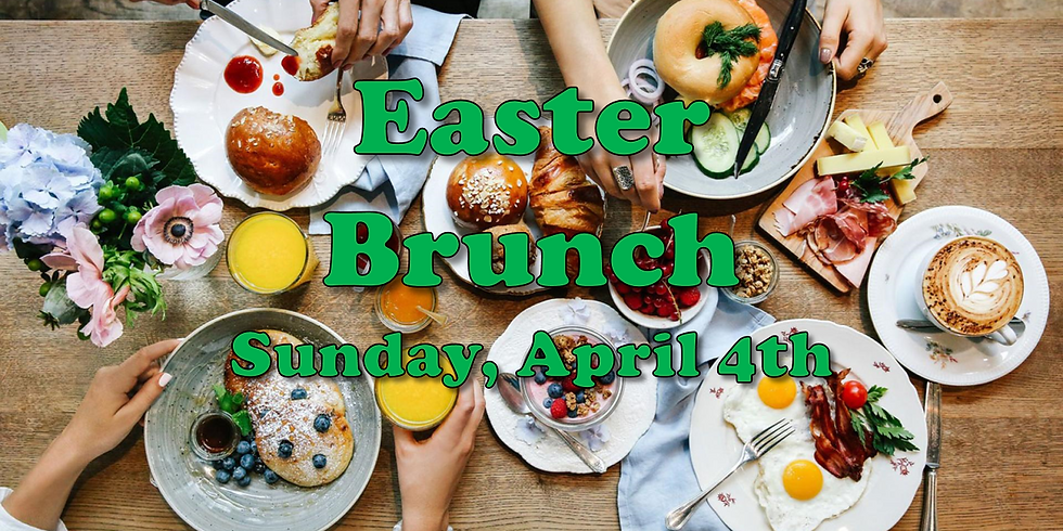 Easter Brunch @Clouds (11:00am-12:30pm)