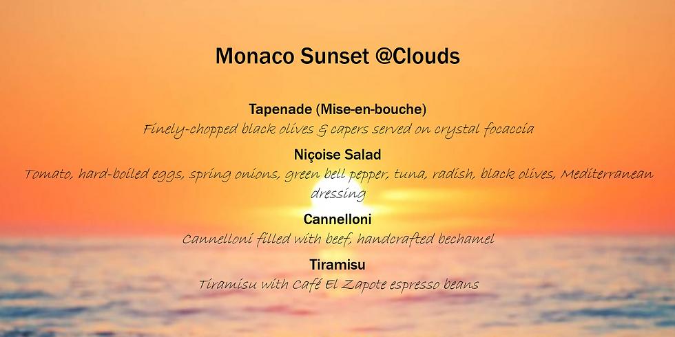 Monaco Sunset @Clouds