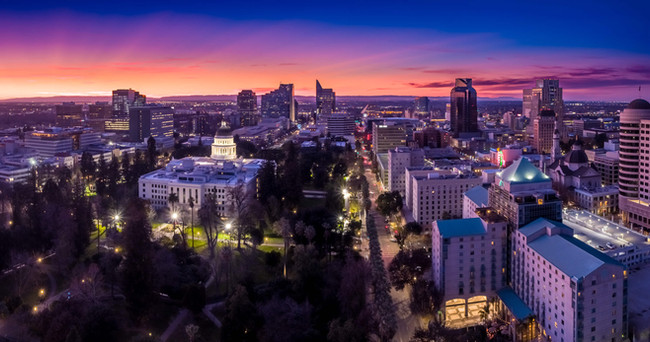California Capitol by Drone