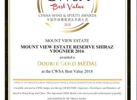 Mount View Estate awarded double gold and more at CWSA!