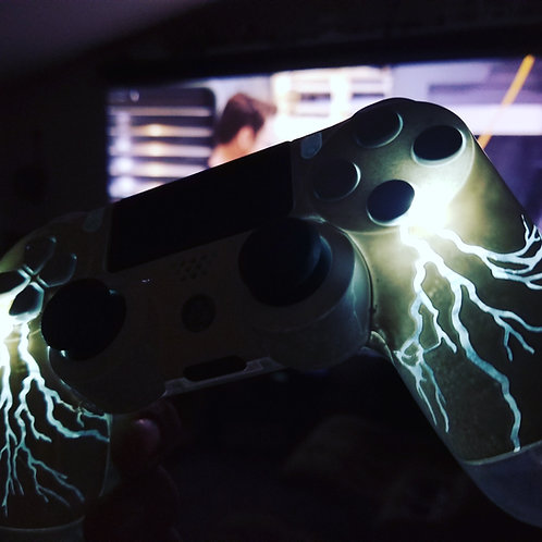 TechFire Storm lightning controller PS4 LED