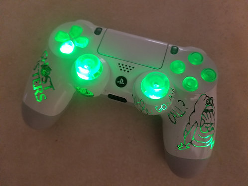 PS4 Ghostbusters wireless led controller
