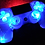 "Thumbnail: PS4 custom wireless Sony controller ""blueberry"" Dualshock4 backdrop"
