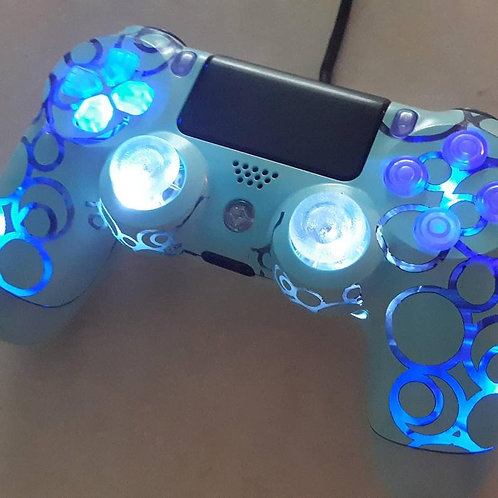 PS4 TechFire Bubbles LED wireless techfire controller