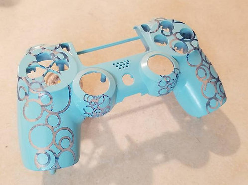 DIY PS4 Bubbles Controller Shell • ps4 housing • techfire custom • ZCT2U model p