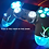 Thumbnail: Playstation 4 PS4 Wireless Custom LED controller Backdrop BLUE