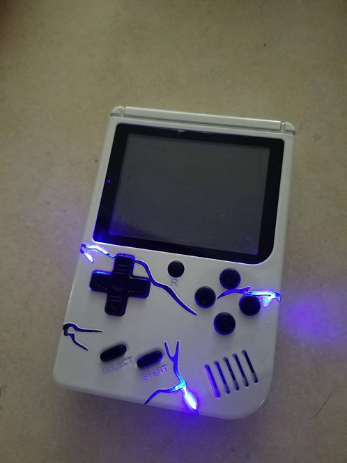 TechFire Handheld 16 bit LED lightning Blue Storm * video game* gift * gaming on