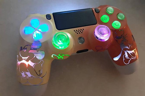 PS4 Rickey and Doofy Controller Custom made by TechFire