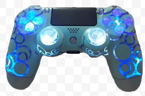 PS4 TechFire Bubbles LED wireless techfire controller