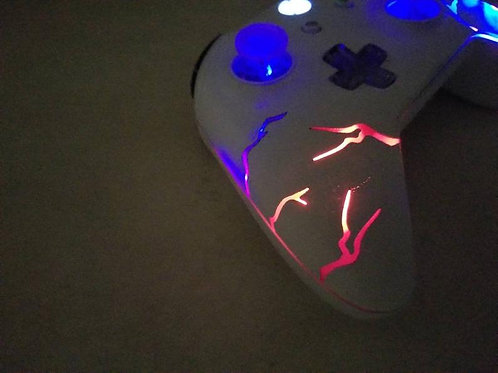 "Xbox One ""Arcade Fire"" Techfire LED wireless controller +remote * xbox one S * e"