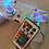"""Thumbnail: PS4 Wireless """"ArcadeFi2e 2"""" independent controllable LEDs custom made+remote"""