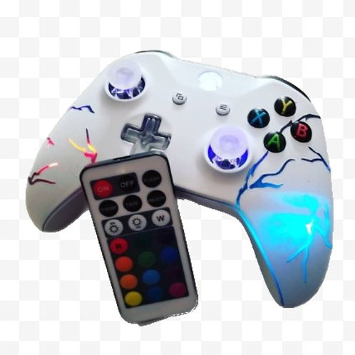 "Xbox One ""Arcade Fire"" Techfire LED wireless controller +remote"