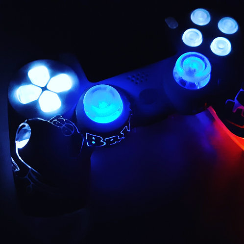 PS4 wireless custom LED family guy controllerController für Familienmitglieder