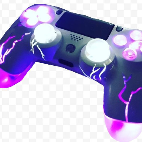 """PS4 playstation 4 """"Boltz"""" Techfire LED wireless controller"""