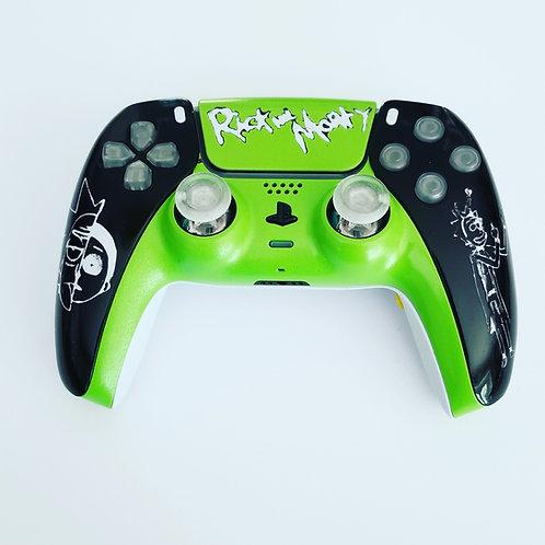 PS5 playstation5 Rick and Morty adjustable joysticks custom controller dualsense