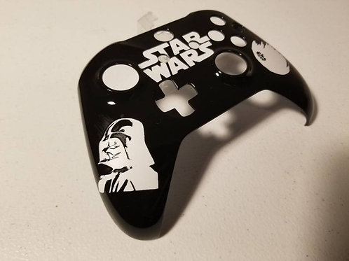 Xbox One S Star Wars controller d.i.y • custom painted xbox one S techfire • fro
