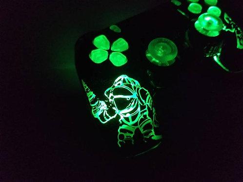 Ps4 Bio shock TechFire LED controller dualshock4 • wireless led • light up games