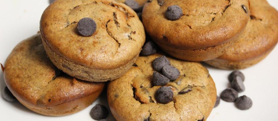 Gluten-Free, Dairy-Free Banana Chocolate Chip Muffins