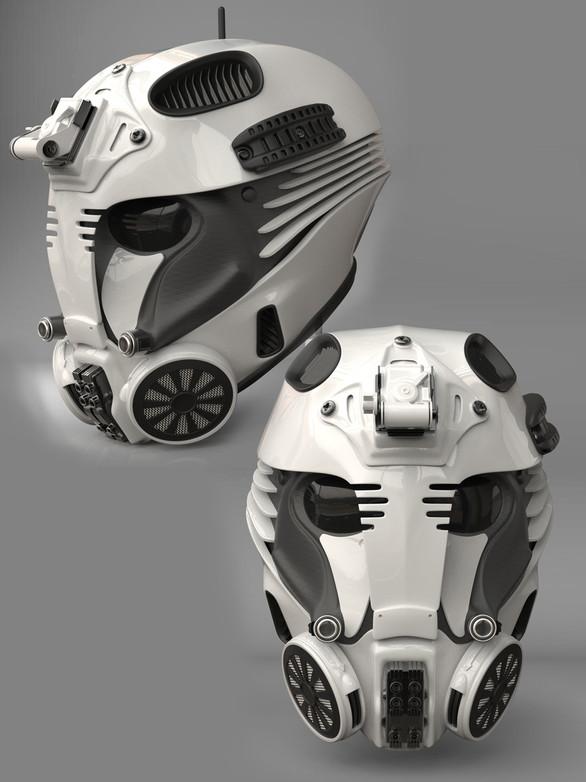 Tech Helmet Wearable