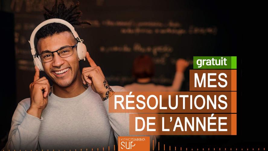 MES BONNES RÉSOLUTIONS DE L'ANNÉE