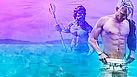 Vidéo d'hypnose gay : je goûte le trident de Poséidon