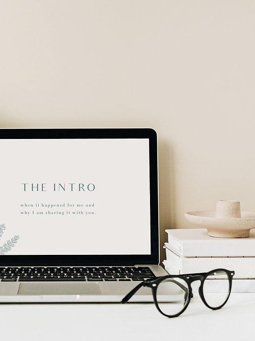 THE INTRO - DESKTOP