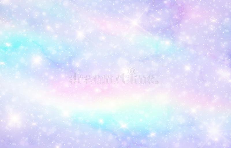 Vector Illustration Of Galaxy Fantasy Ba