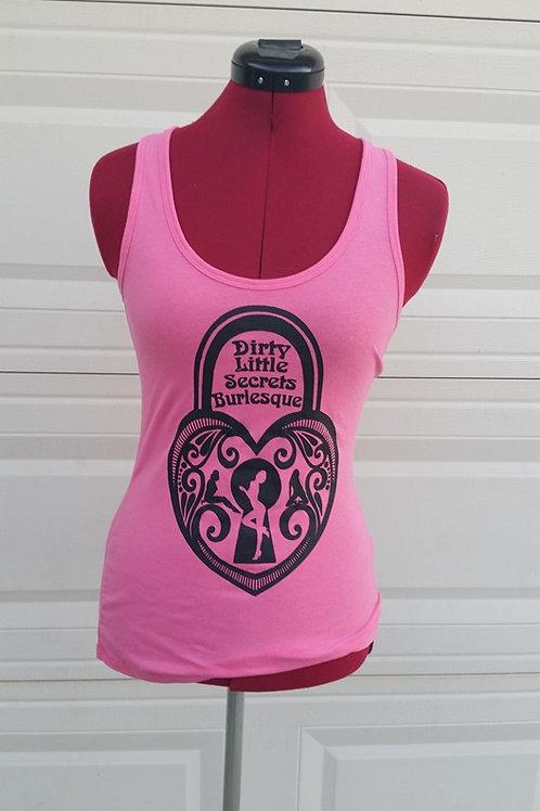Pink Locket Tank Women's