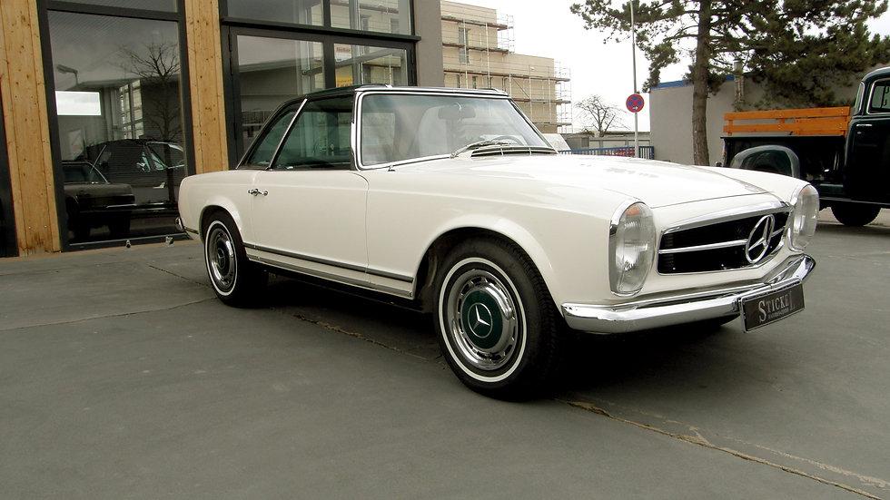280 SL weiß / dunkelgrün
