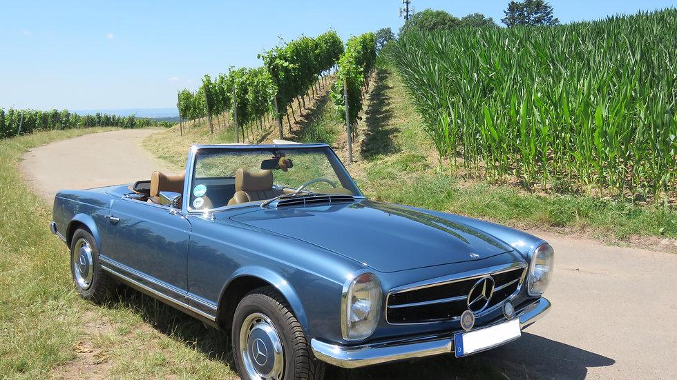 280 SL blaumetallic / dattel