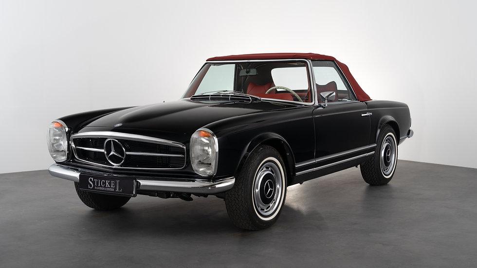 280 SL - 5-Gang, schwarz - rot