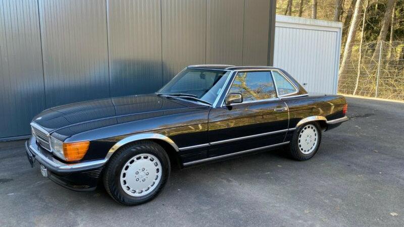 560 SL, Automatik