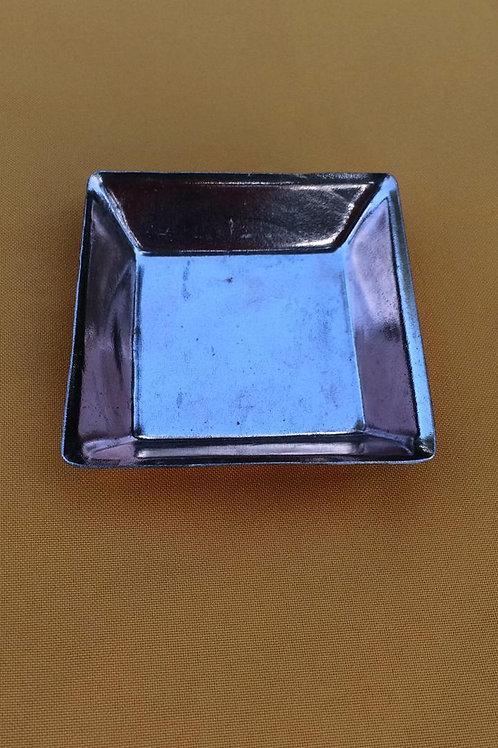 Platito de cobre cuadrado