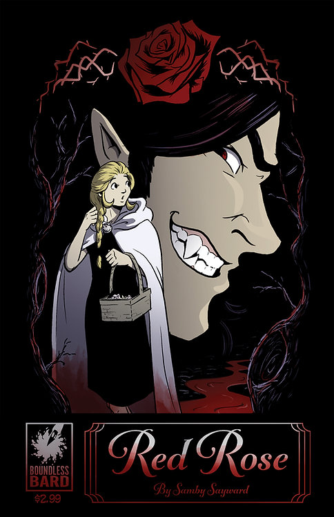 """""""Red Rose"""" - A Daughters of Grimm Comic"""