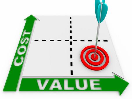 Är det värt att fundera på kostnaden?