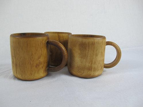 Mango wood coffee mug
