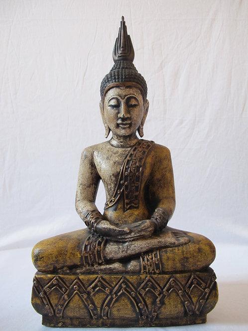 Buddha Figure Wood Carving