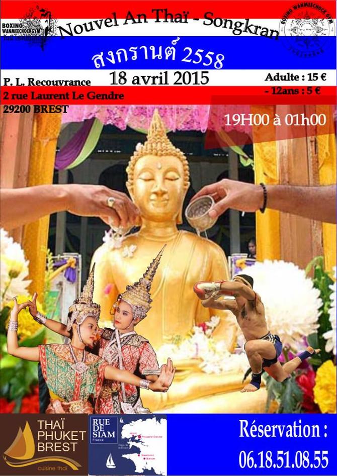 La préparation de 215 repas pour le nouvel an Thai  samedi 18 avril
