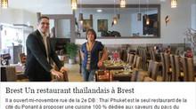 Un restaurant thaïlandais à Brest