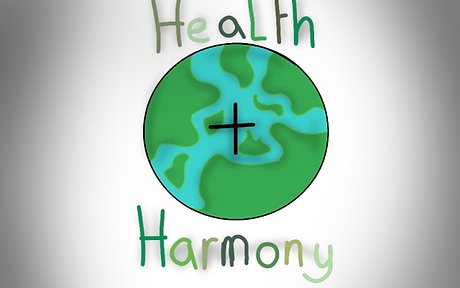 Cham's Logo of health & harmony.png